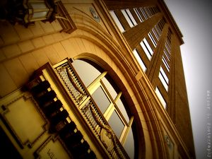 Building on 16th St. Mall, Denver CO