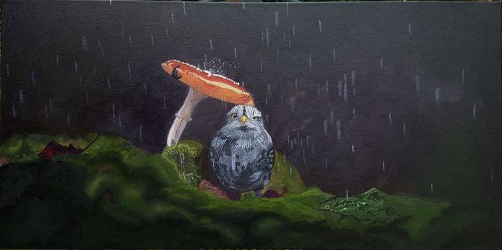 Rainy Day - Art by Amira