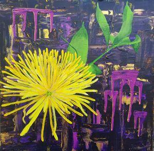 Chrysanthemum Rising - Art by Amira