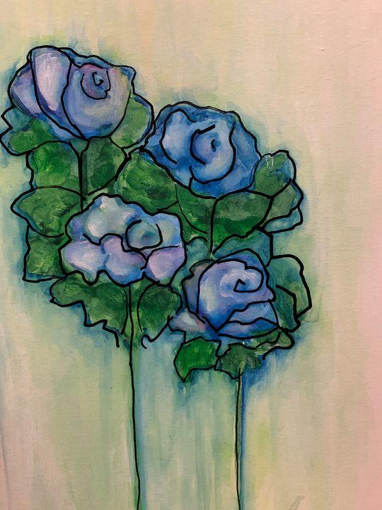 blue rose - maureen thompson