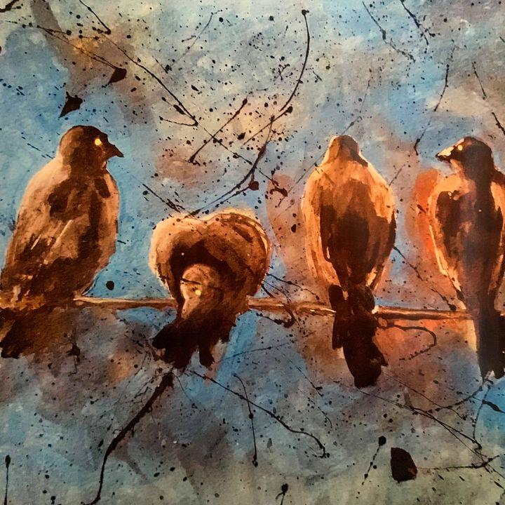 crows - maureen thompson