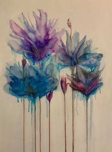 dripping flowers