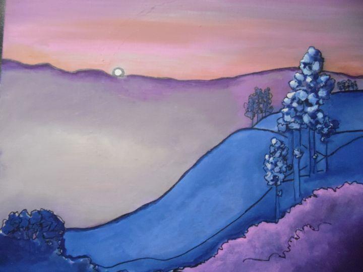 purple mountain - maureen thompson