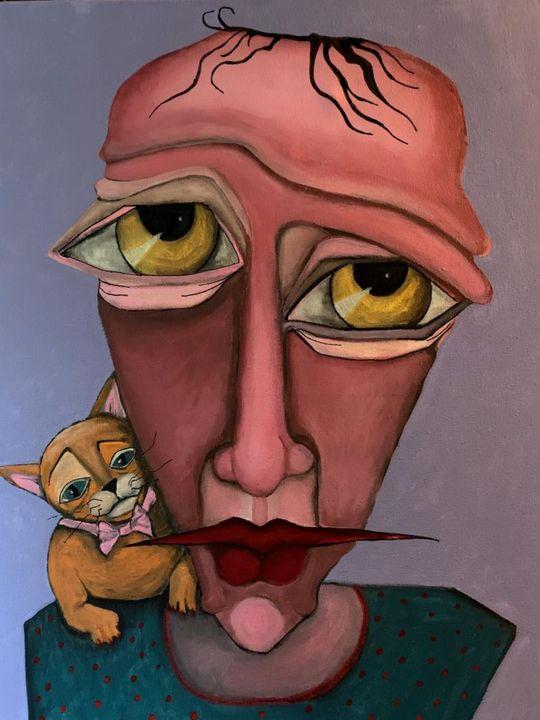 man and a cat - maureen thompson