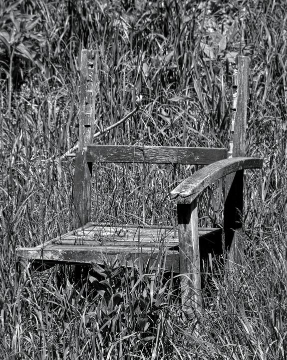 Abandoned Chair - Staeble Studio A