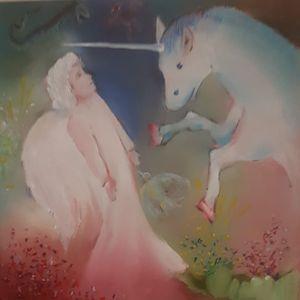 l'ange et la licorne