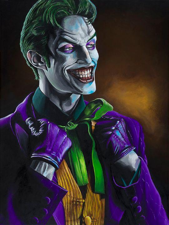The Joker - Mark Pacich Art, LLC