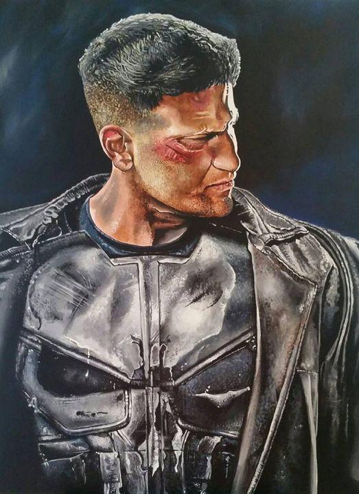 The Punisher - Mark Pacich Art, LLC