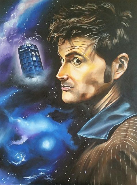 The Doctor - Mark Pacich Art, LLC