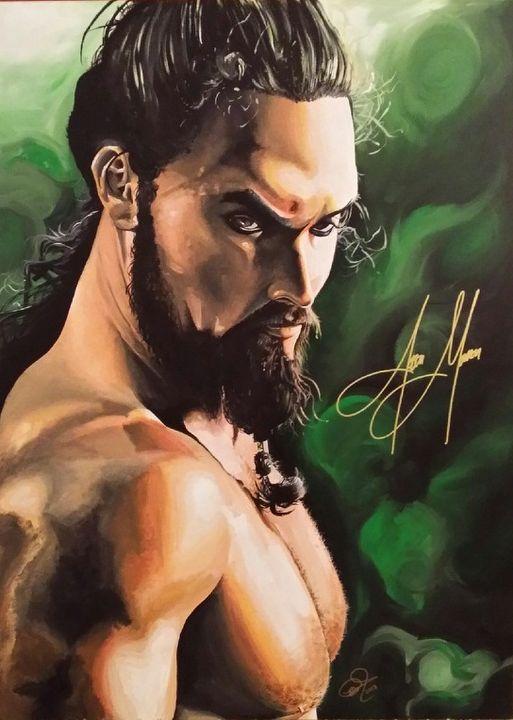 Khal Drogo - Mark Pacich Art, LLC