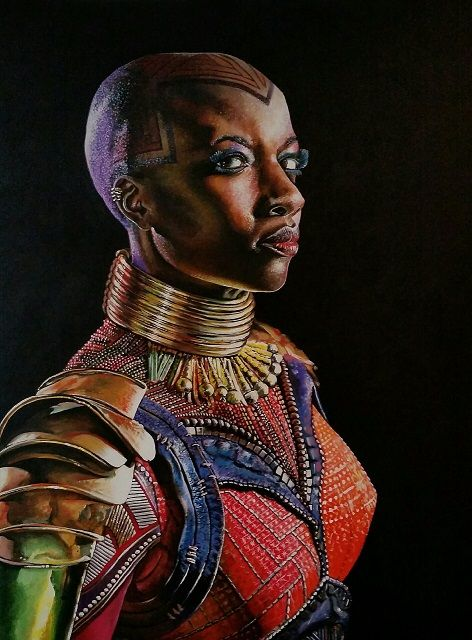 Okoye - Mark Pacich Art, LLC