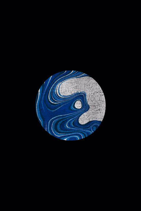 Blue marble moon - NH-212