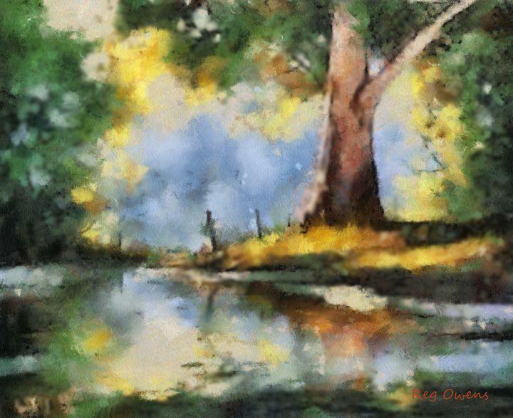 Quiet Pond - REGO ART
