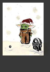Grogu's Lonely Christmas