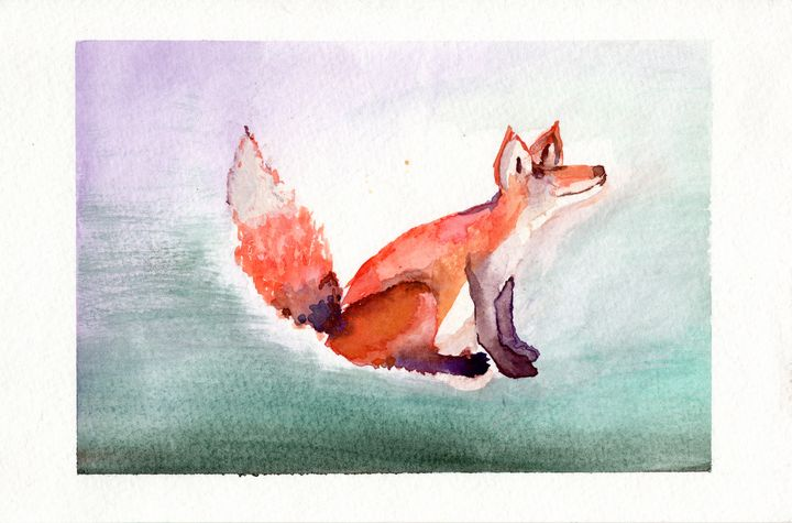 Red-tailed Fox - Christie Flemming