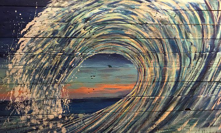 Heavy spiral - Anchor Down Art