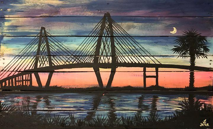 Ravenel at sunset - Anchor Down Art