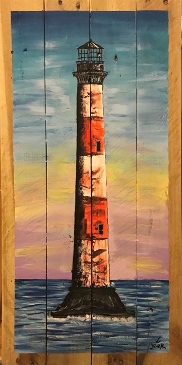 Morris Island - Anchor Down Art