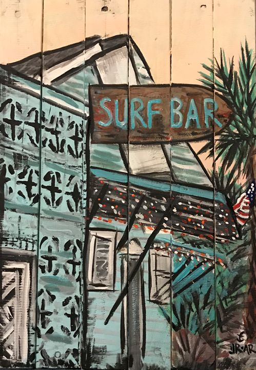Surf bar - Anchor Down Art