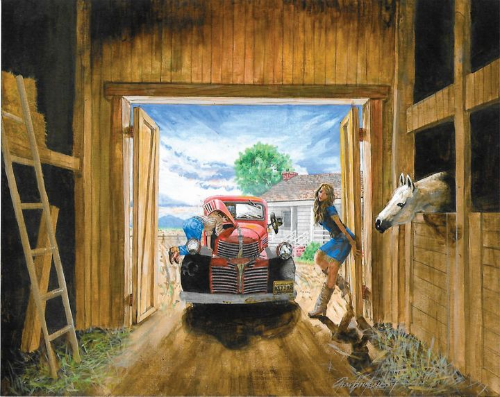 Spoiled Afternoon - Gene Vandervoort Fine Art