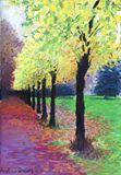 21x29.7cms pastel painting