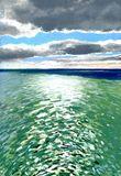 21x29.7cms seascape