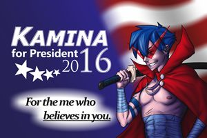 Kamina for President