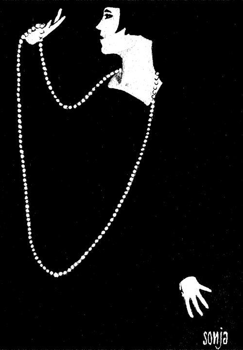 Woman in black - Sonja Peacock