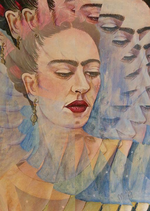 Frida Kahlo - digital - Sonja Peacock