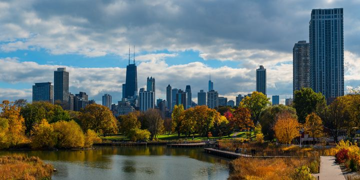 Chicago, Lincoln Park in fall - Patrick John Photography