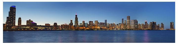 Chicago skyline - Patrick John Photography