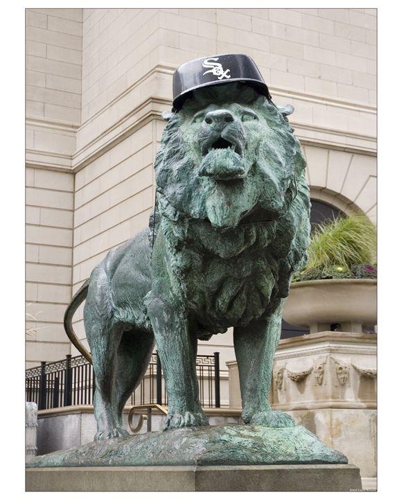 Chicago White Sox lion - Patrick John Photography