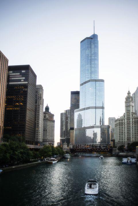 Chicago Trump Tower - Patrick John Photography