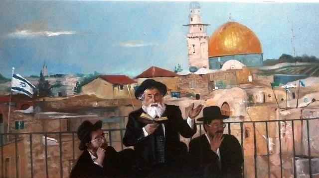 Jerusalem, the holy land - Najwan Fine Art