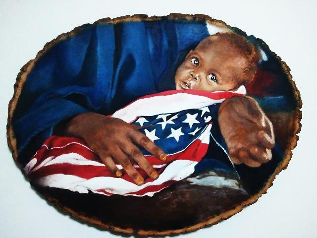 Welcome to the USA - Najwan Fine Art