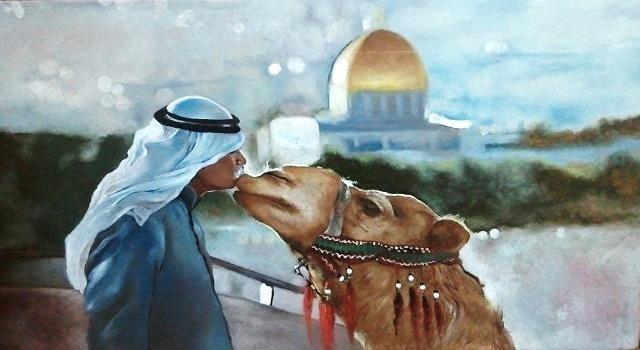 Jerusalem Holy land - Najwan Fine Art