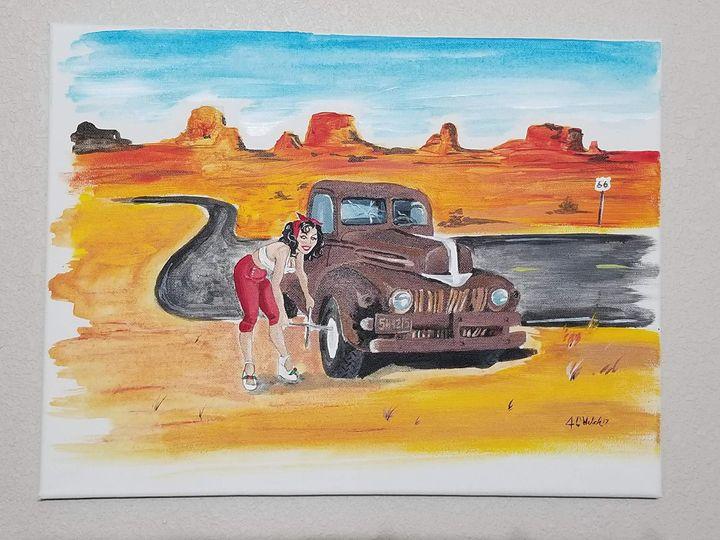 Route 66 - Happy Wife Happy Life