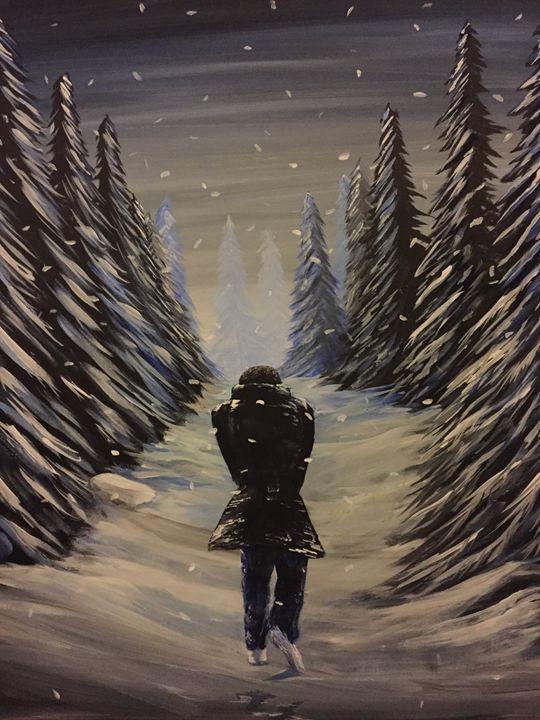 Walking in a winter wonderland - Tyson's Gallery