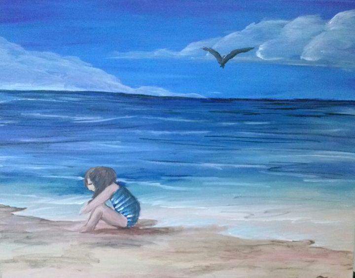 sad day at the beach 2 - Tyson's Gallery