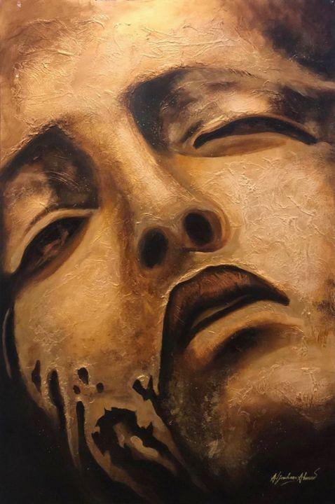 Warrior in pain - Aljouhara Ahmed