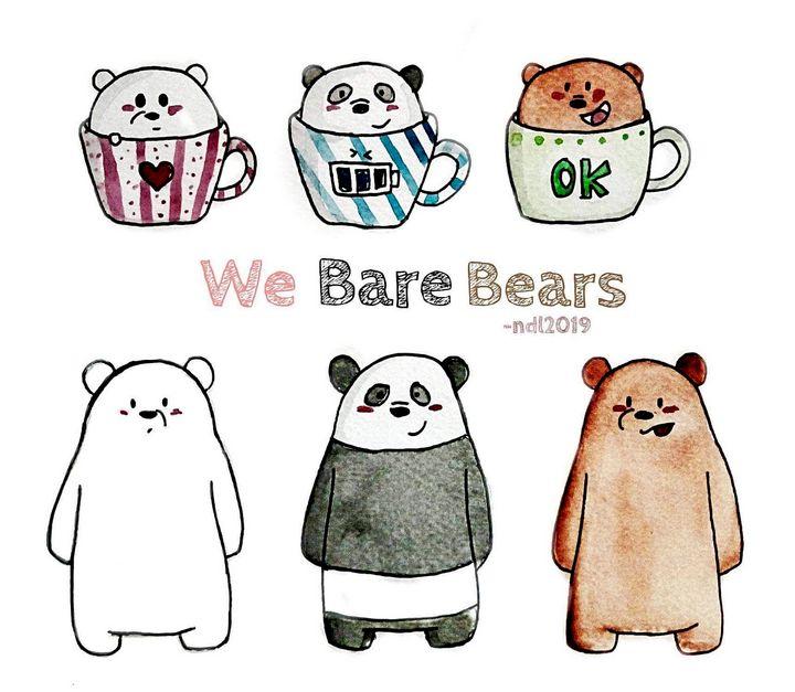 We bare bears - Ahalbae Arts
