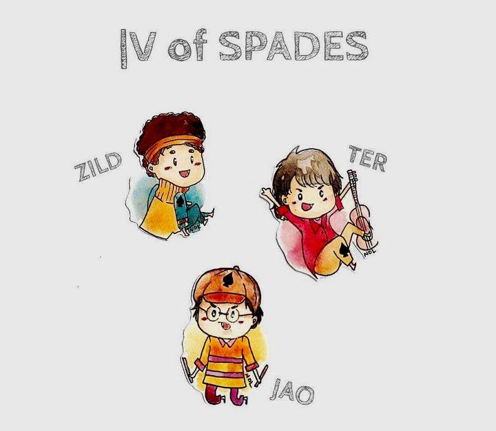 Spades - Ahalbae Arts