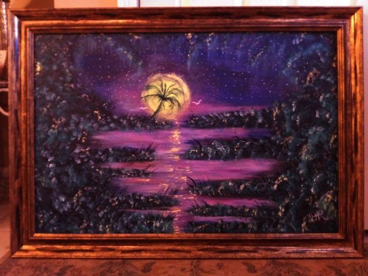 Purple Dream - Artist Diane Russo....Creek Road Gallery