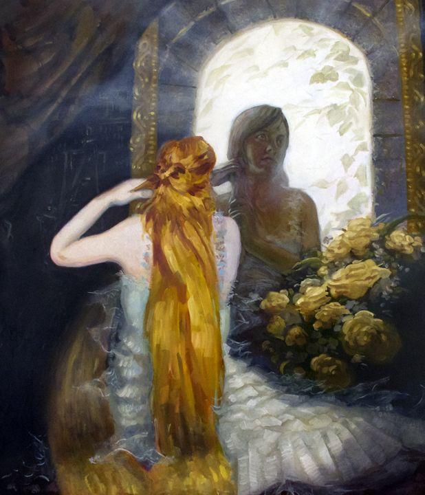 Rapunzel - Allen Morris Illustration