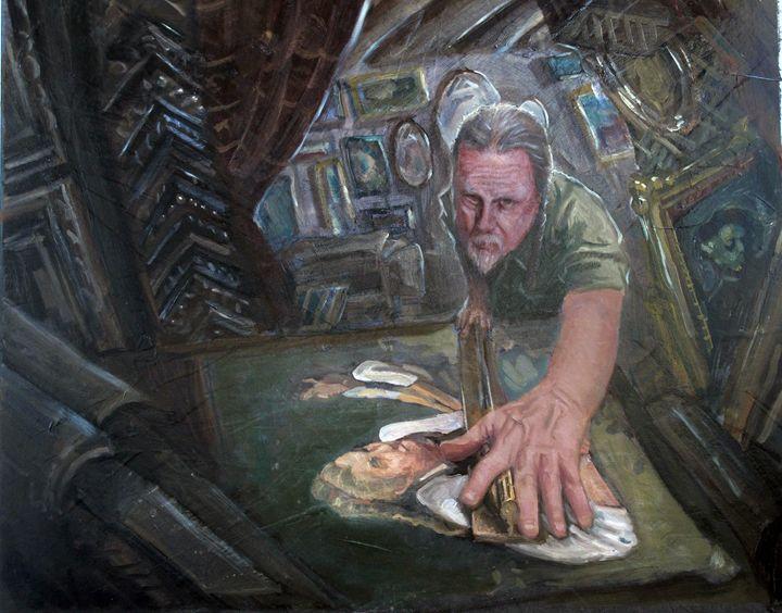 The Framer - Allen Morris Illustration