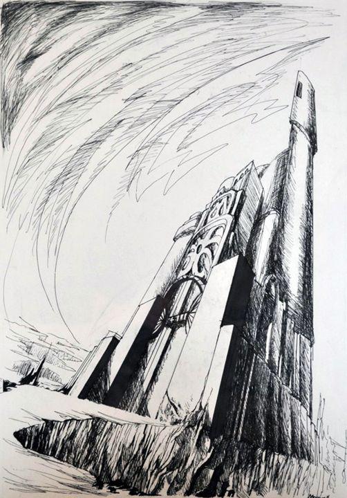Citadel - Allen Morris Illustration