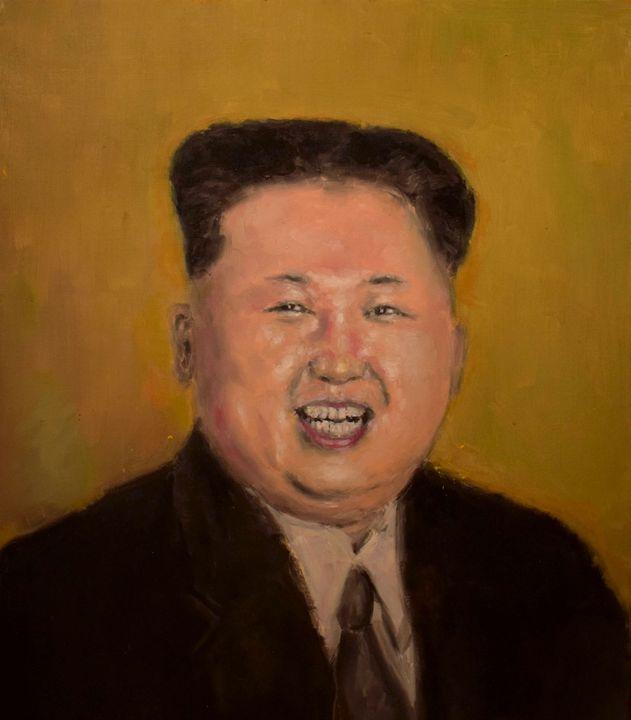 Kim Jong Un portrait - mislawh