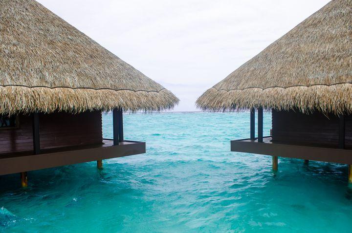 Water Bungalows  at Maldives - KenMdesigns
