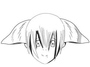 (11YearOld Draws) CATGIRL