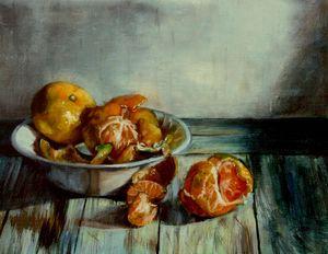 Still-Life of Mandarins